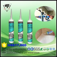One component neutral general sealing anti fungus silicone sealant