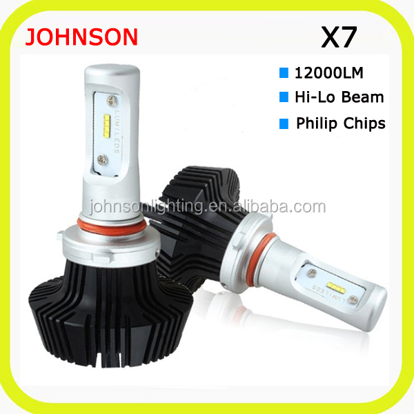 2017 guangdong h15 led headlight 8000lm 9005 led cree 8000lm h11 h7 led bulbs 8000k for car