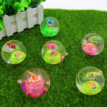 wholesale high quality boucing ball.kids toy.with LED flasing light inside