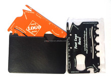 Free Sample!! High quality Hot selling Gift custom wallet survival card