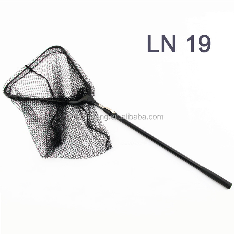 Aluminum Boat fishing folding telescopic landing net