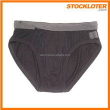 Second hand clothing Mens boxer brief men underwear closeout, order cancellation, 141208d
