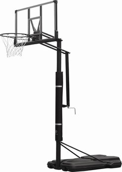 portable basketball stand with 48'' polycarbonate backboard
