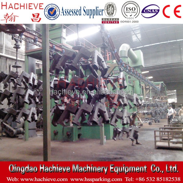Q48 series hanging chain type shot blast machine