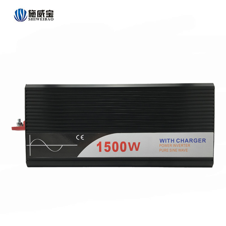 OEM China Supplier DC To AC 1500w Power Inverter With Charger