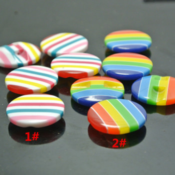 Monopoly DIY material resin button buttons dark eye candy colorful clothing accessories button buckle children