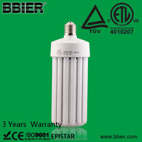 Clear Cover 120W Mogul Base DLC corn light bulb