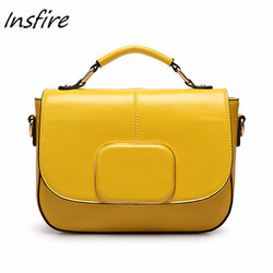 Custom genuine laptop bag tote bag italian shenzhen factory leather message bag