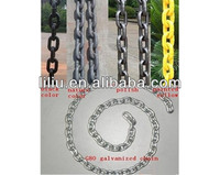 China factory price galvanized G80 heavy duty lifting chains, stainless steel 316 lifting chain