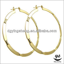 Indian clip on earrings circle earring gold hoop earrings