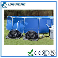 2015 new wholesale swimming pool plastic swimming pool heater (solar heater)