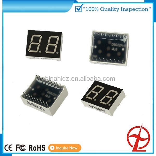 white color for micro-wave oven 3-5 digital 7-segment led display