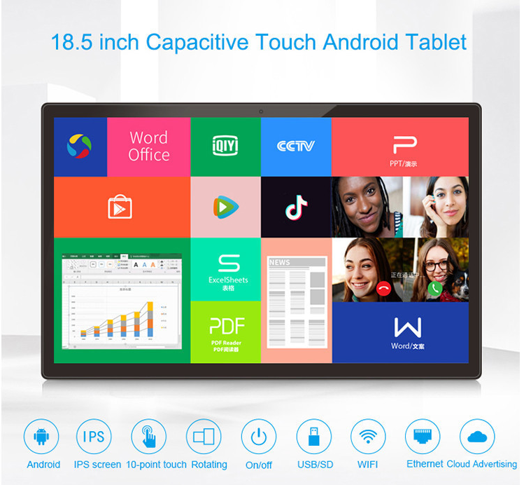 Hopestar 18.5inch/19inchDisplay Advertising tablet pc with sim card