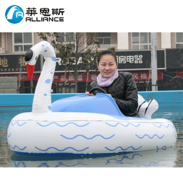 Giant inflatable water toys for the lake electric bumper boat