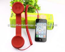 Factory Price 3.5mm Rubber Retro Mobile Phone Handset