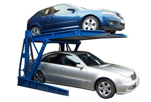 2015 high quality parking lift double car garage parking lift car parking equipment two level car parking equipment
