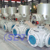 Three Way Ball Valve API6D Side