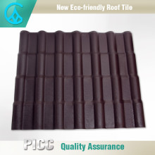 Chinese Traditional Type Durable Natural Coffee Brown Roof Tiles