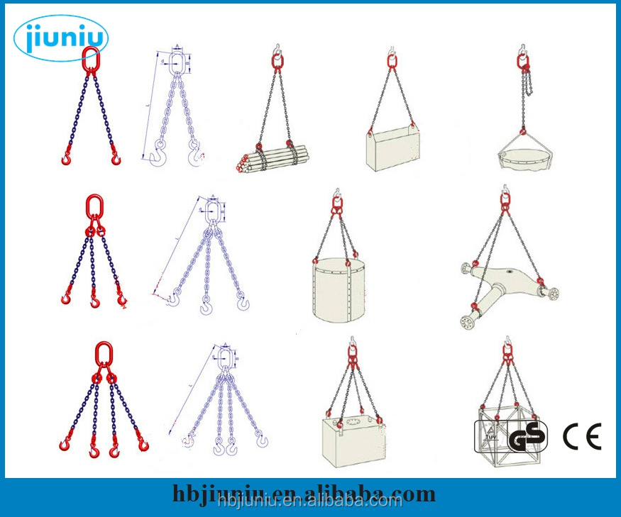 Stainless steel wire rope sling/polyester webbing sling, web sling