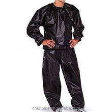 2018 best sale amason pvc Sauna Suit