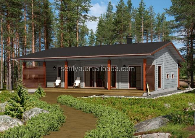 New design wooden chalets for sale with high quality