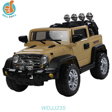 WDJJ235 Very Cool Double Motor Toy Army Jeep With Modern Design