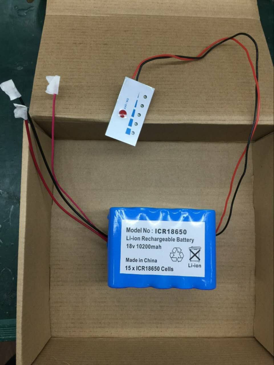 18650 26650 lithium ion battery packs
