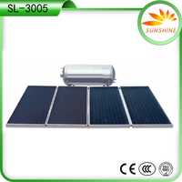 pressurized solar hot heating system