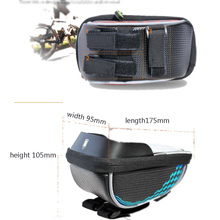 China Outdoor Sports Riding Bike Frame Front Tube Bag Cycling Bag Pannier
