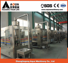 aerated complete water filling machinery China