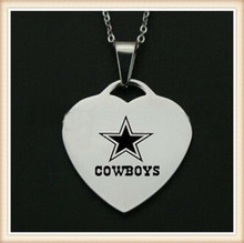 China supplier high quality high polish free shipping wholesale stainless steel dallas cowboys pendant