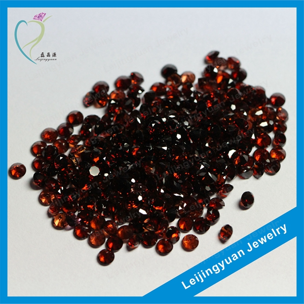 Cheape Round Natural Garnet Stone Price