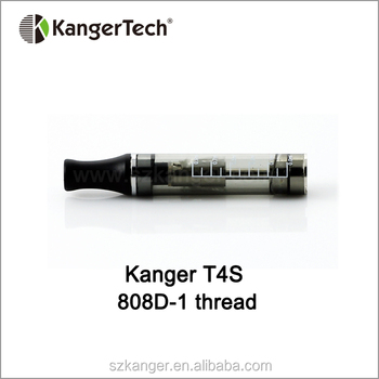 Kanger T4S with 808D-1 and Kanger 510 Thread