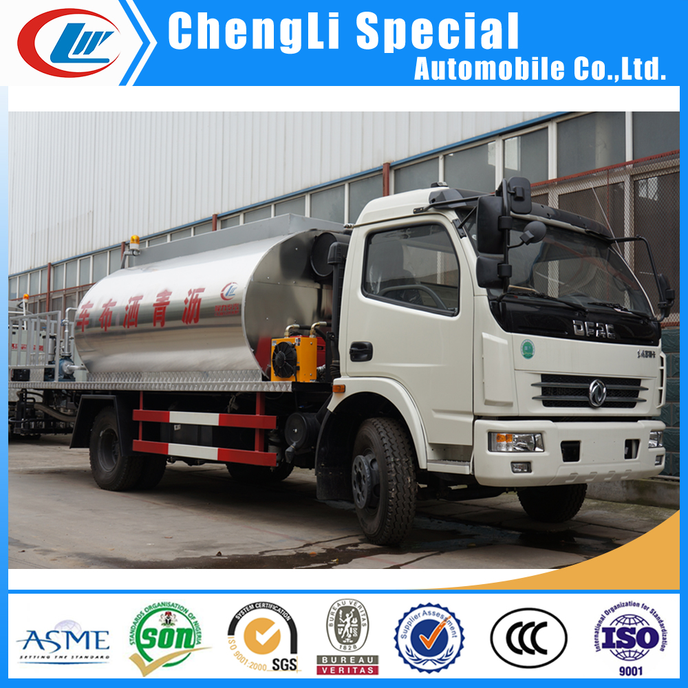 Dongfeng 4x2 Asphalt Distribution Truck 8.2CBM Bitumen Sprayer Road Construction Paver