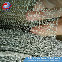 Factory Direct anping aluminum and stainless steel knitted wire mesh ribbon
