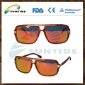 Fashionable High Quality PC Frame Wood Sunglasses