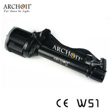 Professional Military Torch LED Narrow Beam Flashlight 100Meters Underwater W51(CE&RoHS)
