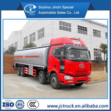 fuel tank truck capacity gas delivery truck FAW 33000L fuel tank truck factory direct sales