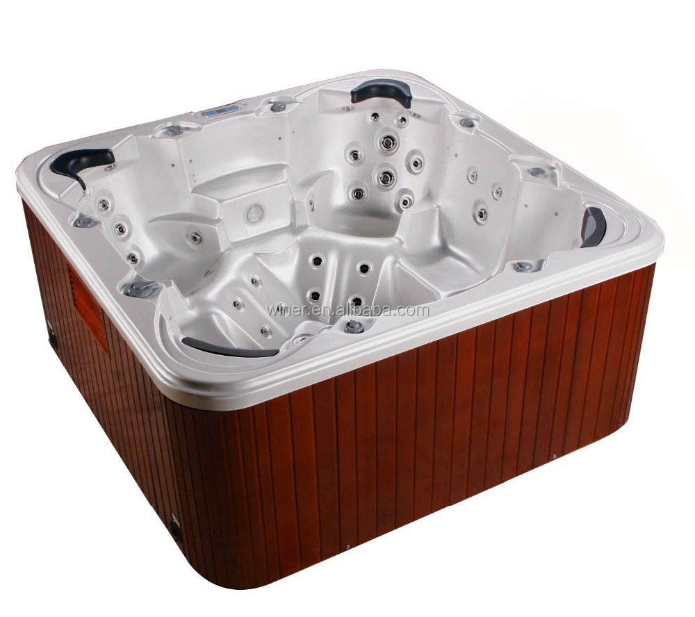 Musical freestanding outdoor massage jet whirlpool hot for Cheap free standing tubs