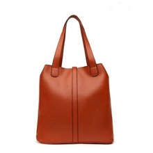 Bz2146 European retro style classic women PU handbags china supplier