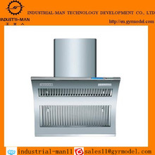 Low cost and precision copper kitchen range hood rapid prototype