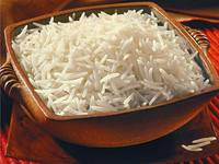 polished and unpolished rice
