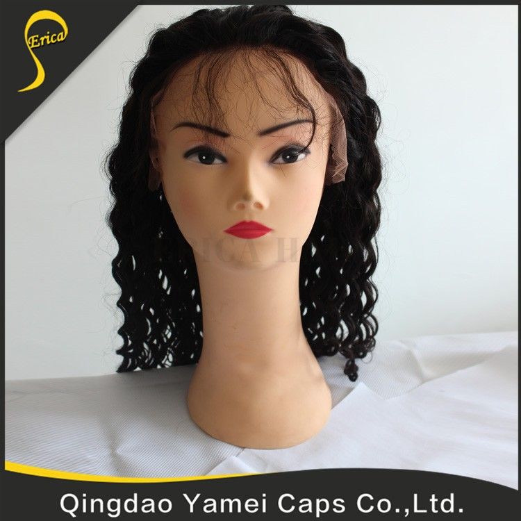 Wholesale Great Quality 6 A Grade Natural Qingdao Top Beauty Wig