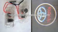 2014 new products laser logo led door ghost shadow projector lights/car led ghost shadow light hot sale