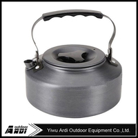 Ultra-thick rigid outdoor camping kettle teapot portable coffee pot 1.1L