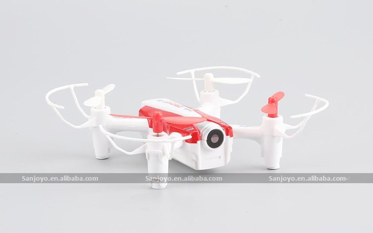 Newest mini helicopter 2.4Ghz 4CH 6 axis rc drone with wifi camera quadcopter SJY-CX-17