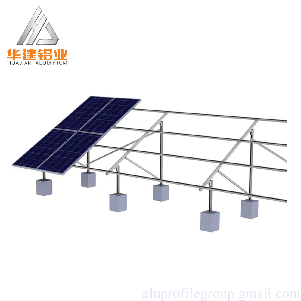 China factory <strong>ALUMINUM</strong> SOLAR ENERGY PROFILELS FOR Solar Panel Frames / Bracket