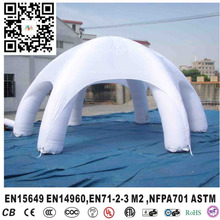 Inflatable white sprider tent, inflatable dome tent for sale,inflatable igloo tent