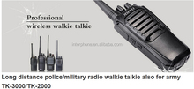 Army walkie talkie,long distance police/military radio walkie talkie also for army TK-3000/TK-2000