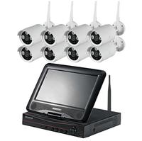 Cheap Good quality 8 channel wireless cctv Wifi 1.3MP IP Surveillance Camera of 8CH NVR Outdoor CCTV Wireless Kit